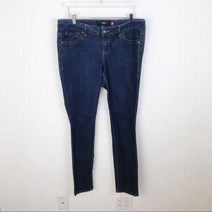 Torrid Dark Wash Skinny Jeans Denim 16 Tall